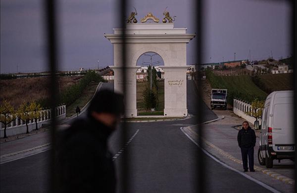 NYT photo of the Ashraf3 CAmp of MEK in Tirana