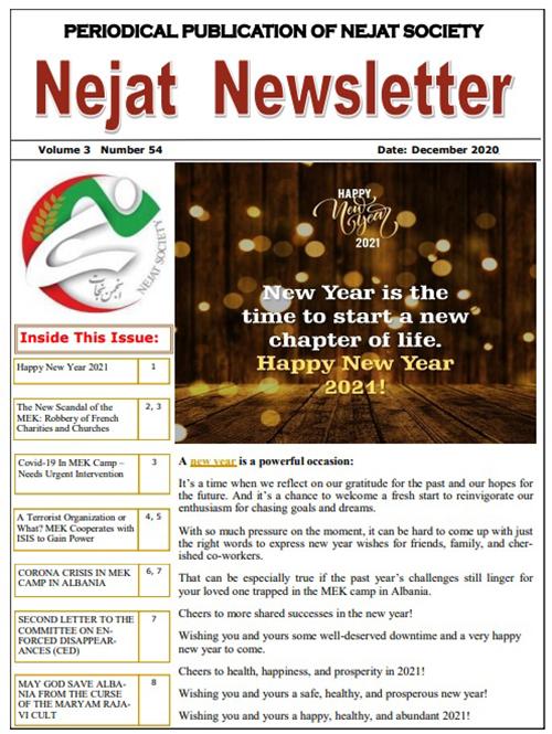 Nejat Newsletter no 79