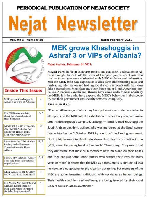 Nejat Newsletter