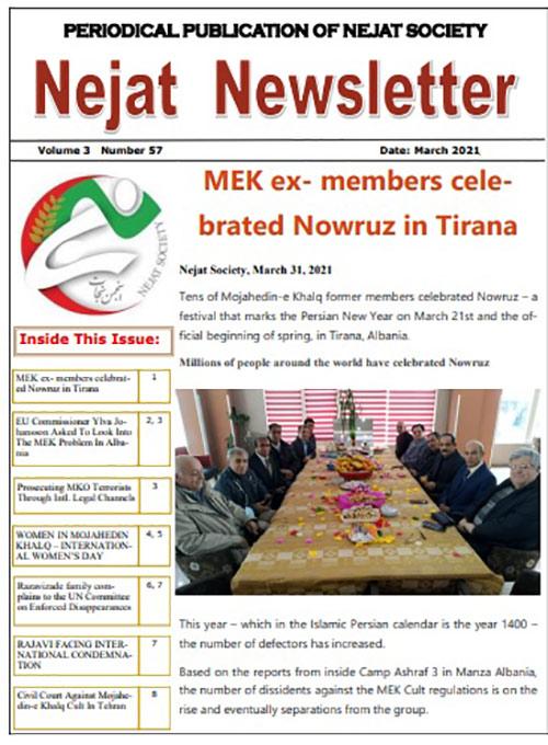 Nejat Newsletter 82