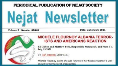 Nejat Newsletter No.84