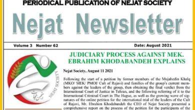 Nejat Newsletter no.85