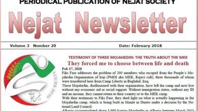 Photo of Nejat Newsletter No. 52