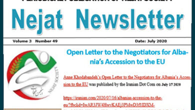 Photo of Nejat NewsLetter No. 74