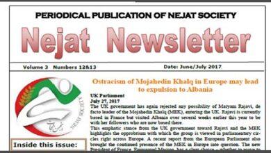 Photo of Nejat NewsLetter NO.46