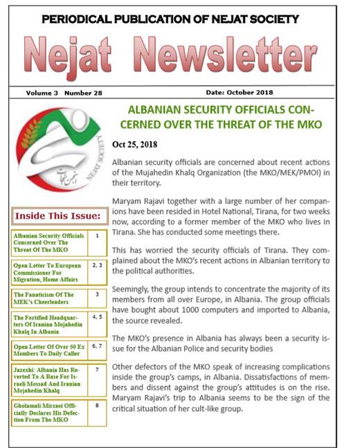 Nejat Newsletter - no 57