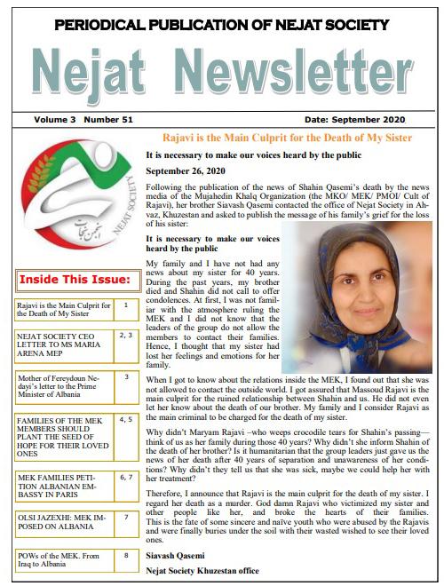 Nejat Newsletter - no 76