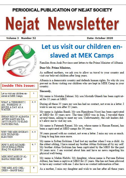 Nejat Newsletter - no 77