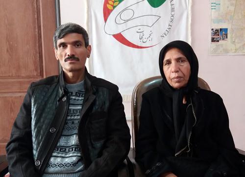Families of Darush Najafi from Kermanshah