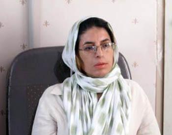 Mahin Najafi, the sister of Mohammad Jafar Najafi