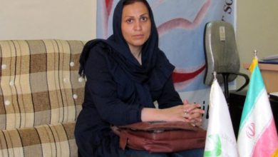 Khadijeh (Sara) Nargesi; the sister of Leila Nargesi who is hostage at MEK camp in Albania