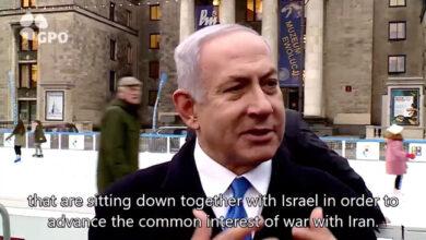 "Photo of As Giuliani Calls for Regime Change in Iran, Netanyahu Raises the Specter of ""War"""