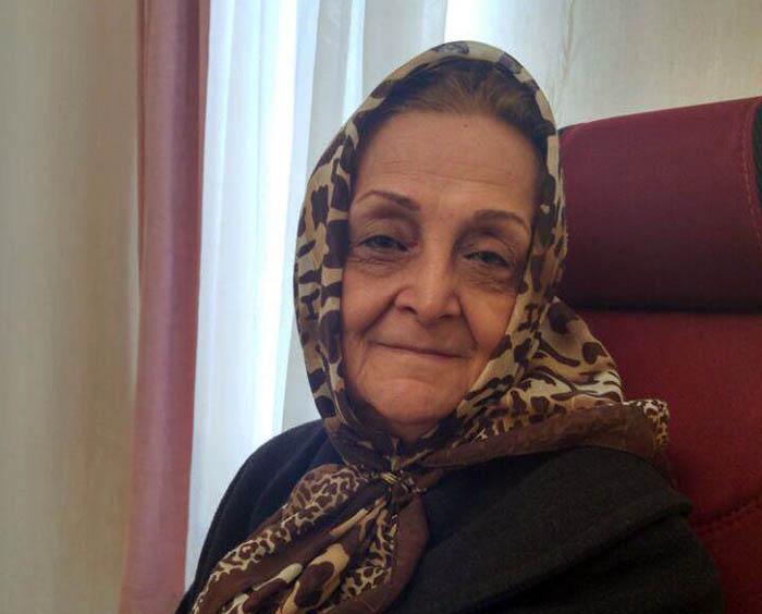 the mother of Fereydoun Nedayi