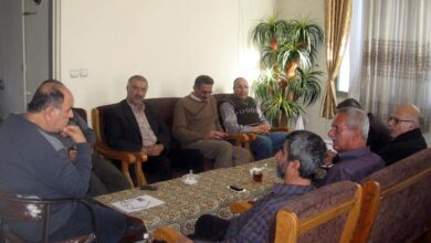 Photo of Nejat Society meeting in Mazandaran