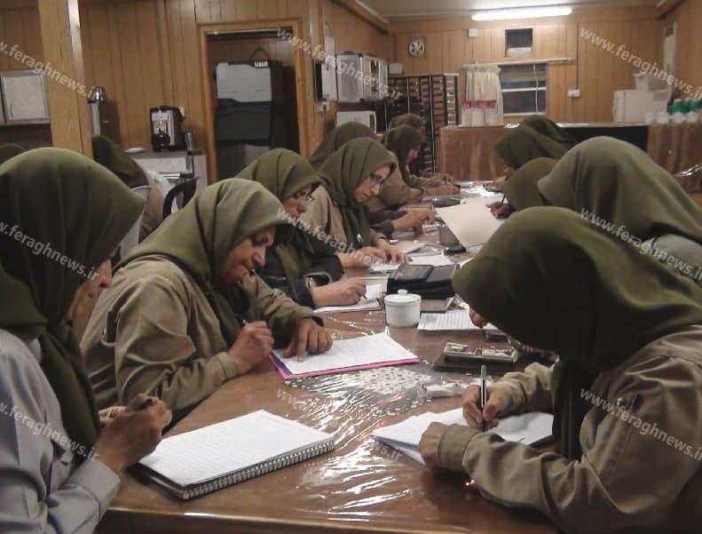 MEK women writing confessions