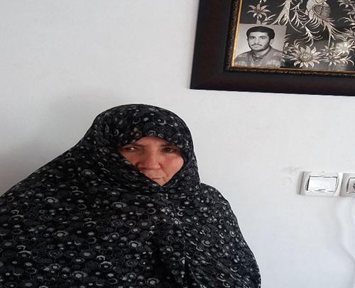 Soghari Azadi, Amir Parvizi's mother-zanjan