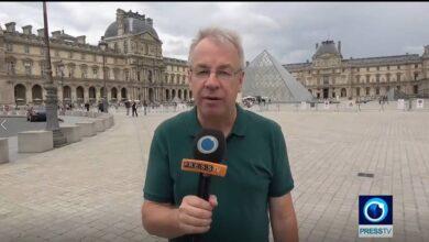Presstv on France support for MEK terror group