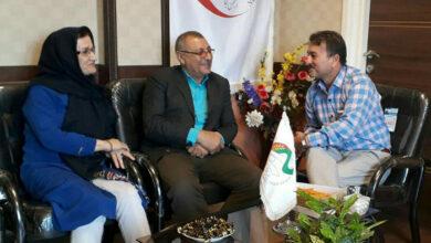 Pourhassan family at nejat gilan branch