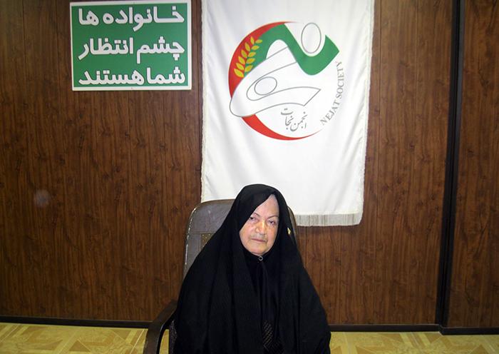 Montahaei Zahraei - mother of Mostafa Qaedi