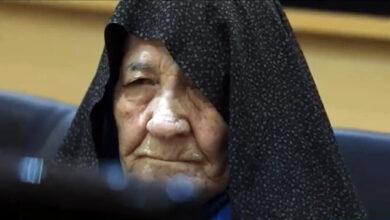 Habibollah Qasemi mother
