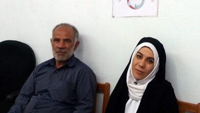 Photo of Family of MEK's hostage at Nejat Society, Zanjan office