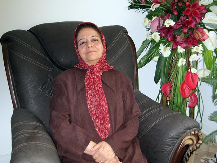 Mahin Habibi- Mother of Parvane Rabiee
