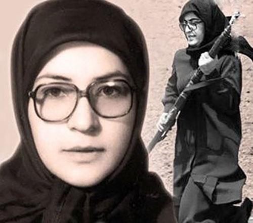 Ashraf Rabiei ; Massoud Rajavi's first wife
