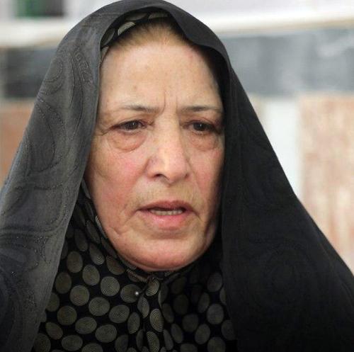 Roghayeh Fadai Oghlui, Hassan Rahnama's mother - Tabriz