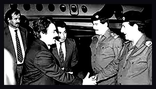 Rajavi and Tariq Aziz