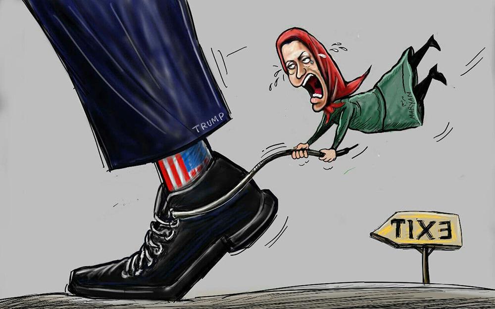 Rajavi and Trump