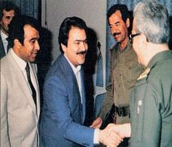 Rajavi and Saddam