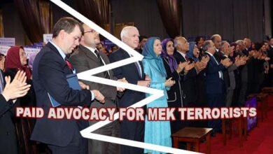 Photo of Iranians loathe the MKO