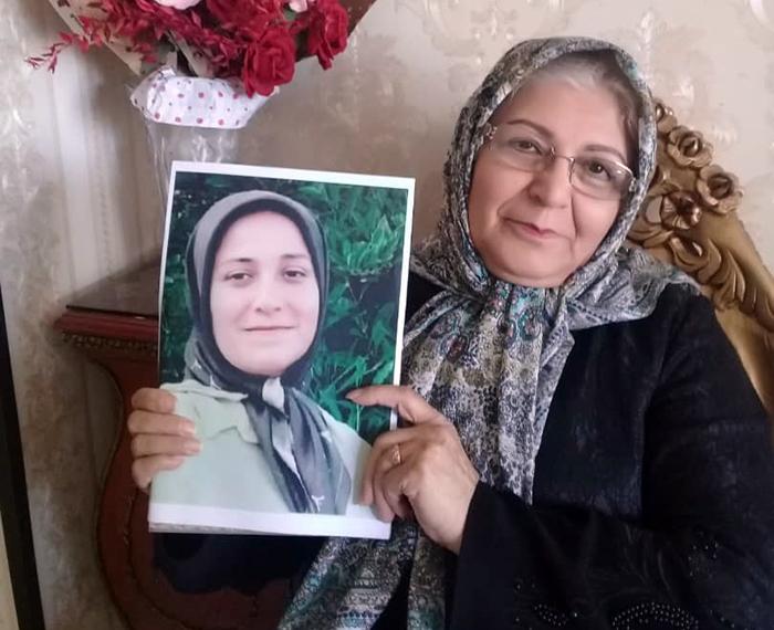 Fatemeh Mohabbati, Azadeh Saboor's mother - Arak