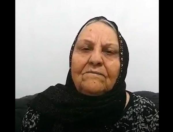 Shahzadeh Sajedifar, mother of Gholam Ali Sajedifar