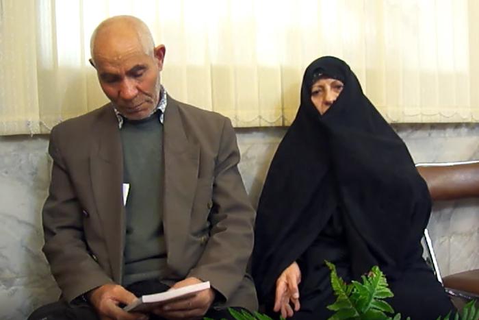Qodrat Seddiq, the father of Mohammad Reza Seddiq - Tabriz