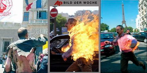 MEK members self-immolation