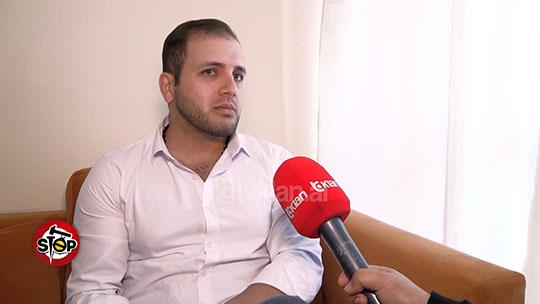Farad Shakarami - MEK Cult defector in Albania