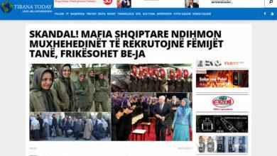Photo of SCANDAL! Albanian Mafia Helps Mojahedin Khalq Recruit Our Youth, Fears The EU