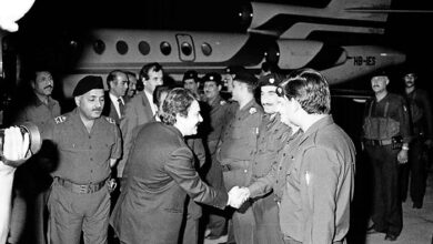 Photo of Massoud Rajavi's Move to Iraq in 1986