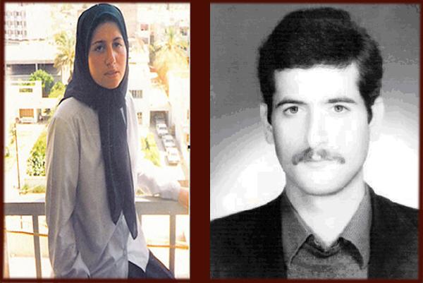 داوود احمدی و زری نیک شناس - همسر اول داوود که د رعملیات فروغ جاویدان کشته شد