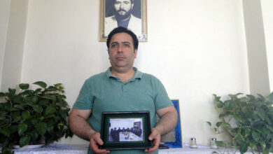 Photo of نامه آقای غلامرضا اکبری نسب به برادرش مرتضی اکبری نسب در آلبانی