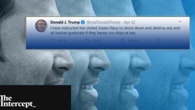 Photo of دونالد ترامپ حشمت علوی و شبکه ترولهای توییتری مجاهدین خلق در آلبانی