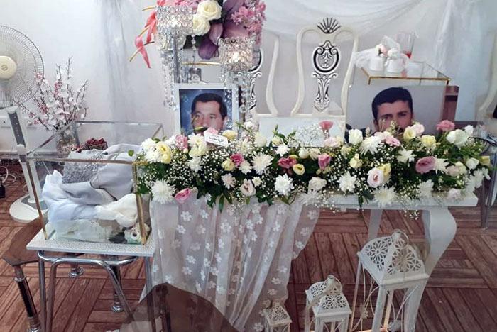 مراسم عقد خواهر امیراصلان حسنزاده