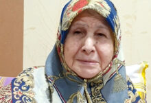 مادر علی اکبر عندلیبی