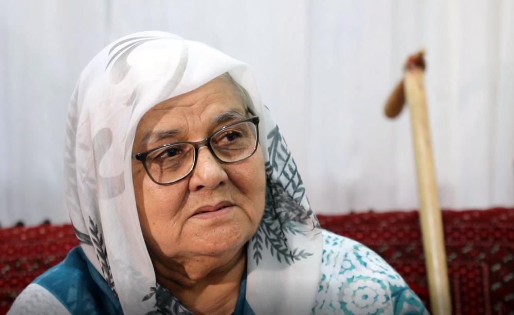 مادر حمید محمد آق آتابای