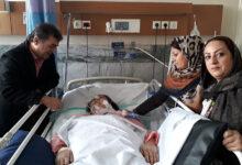 Photo of عیادت از مادر چشم انتظار میلاد بهشتی