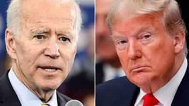 بایدن و ترامپ - انتخابات امریکا
