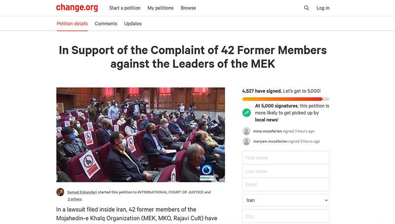 سایت بین المللی Change.org