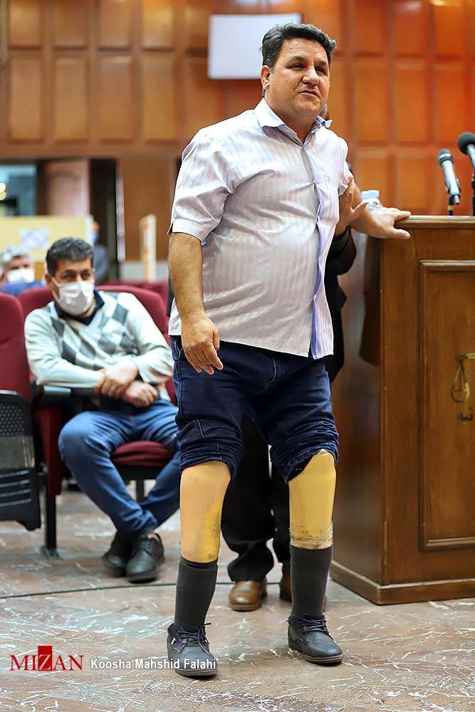نادر چپچاپ در دادگاه