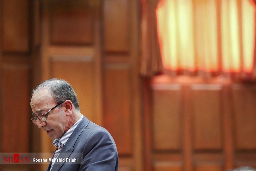 بخشعلی علیزاده در دادگاه